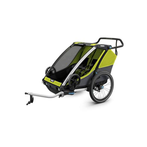 Thule CHARIOT CAB2 - Fahrradanhänger - grün schwarz