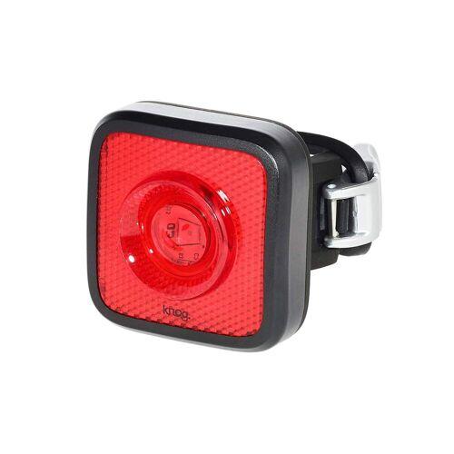 Knog KNOG BLINDER MOB FAHRRADLAMPE, STVZO, WEIßE LED, BLACK/BLACK Gr.LED (ROT) - Fahrradbeleuchtung - schwarz rot