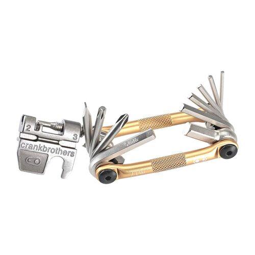 Crankbrothers CRANKBROTHERS MULTI-17 MULTITOOL, GOLD Unisex - Fahrradwerkzeug - grau