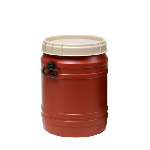 Curtec Drum with Lid 65L - Ausrüstungsbox - rot