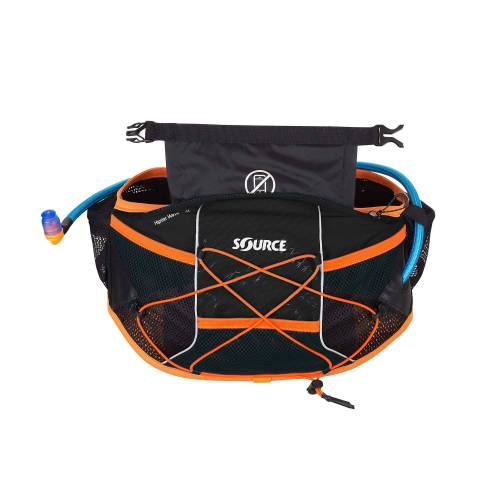 Source HIPSTER  WAVE -HYDRATION BELT 1.5 L BLACK - Trinkrucksack - schwarz
