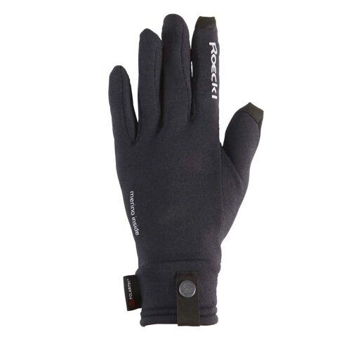 Roeckl KATARI POLARTEC POWER WOOL Unisex Gr.10,5 - Handschuhe - schwarz