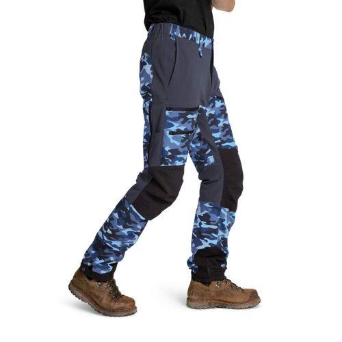 Is Not Enough ARES TREKKING PRO PANTS Männer Gr.XS - Trekkinghose - blau
