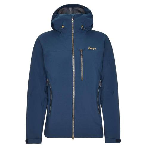 Sherpa MAKALU JACKET Männer Gr.S - Regenjacke - blau