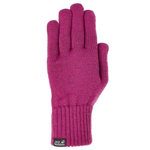 Jack Wolfskin MILTON GLOVE Unisex Gr.L - Handschuhe - pink-rosa