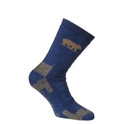 Alpacasocks ALPACASOCKS 3-PACK BEAR Unisex Gr.40-43 - Wintersocken - blau