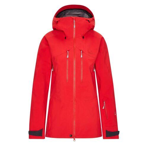 Tierra ROC BLANC JACKET GEN.3 W Frauen Gr.XL - Regenjacke - rot