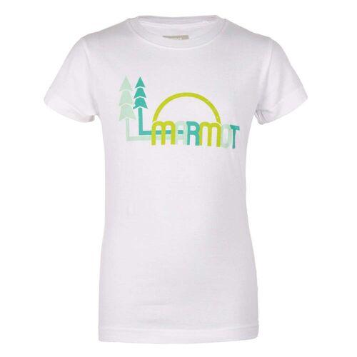 Marmot SCOUT TEE SS Kinder Gr. 128 - T-Shirt - weiß
