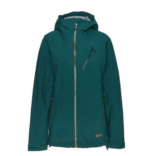 Sherpa MAKALU JACKET Frauen Gr.XS - Regenjacke - grün
