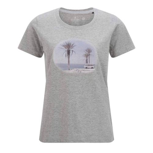 Elkline INMYMIND Frauen Gr.34 - T-Shirt - grau