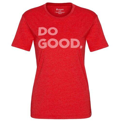 Cotopaxi DO GOOD T Frauen Gr.L - T-Shirt - rot
