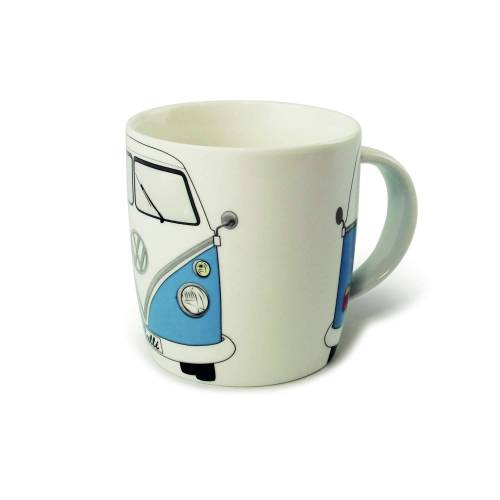 BRISA KAFFEETASSE BULLI BLAU Gr.ONESIZE - Campinggeschirr - weiß blau