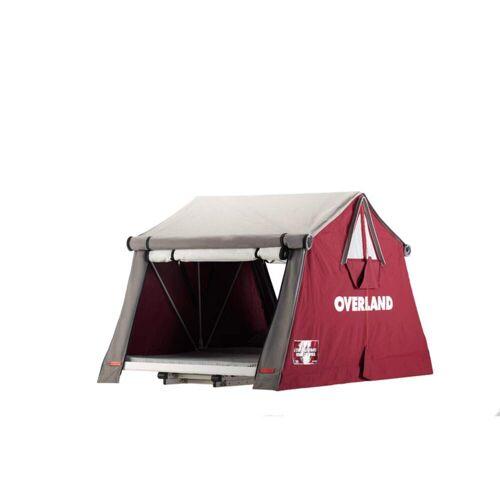 OVERLAND AIR-CAMPING - Dachzelt - Gr. 160 - rotbraun / BORDEAUX - für 3 Personen