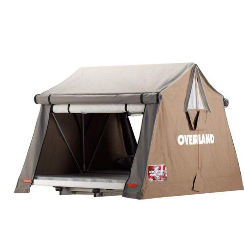 OVERLAND AIR-CAMPING - Dachzelt - Gr. 180 - beige-sand beige-sand / SAFARI - für 4 Personen