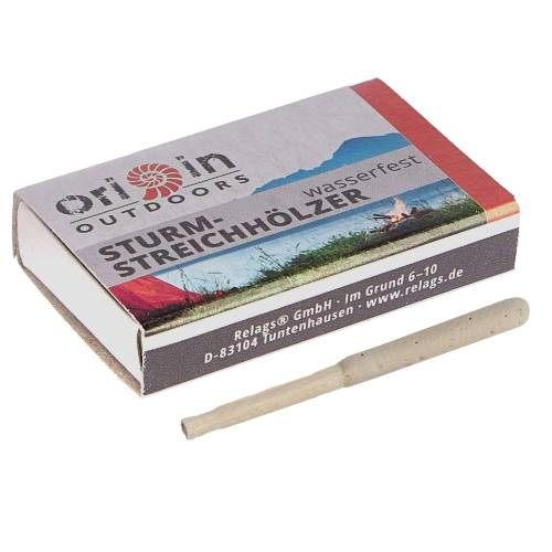 Relags STURMSTREICHHÖLZER 10ER PACK Gr.ONESIZE - Streichhölzer - beige-sand