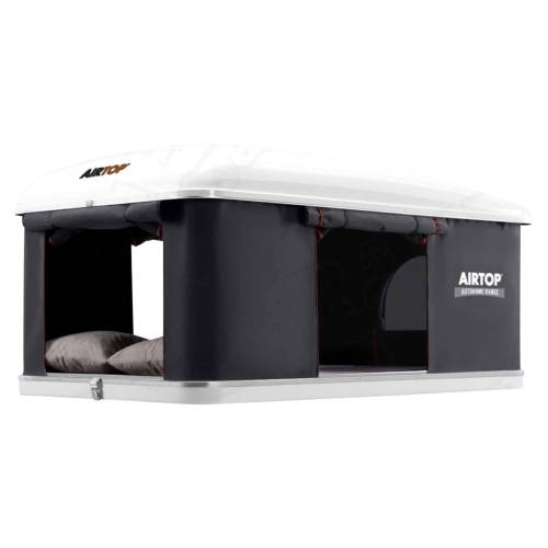 Maggiolina AIR TOP - Dachzelt - Gr. Medium - schwarz grau / CARBON - für 3 Personen