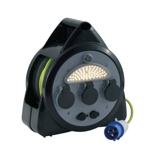 Outwell KABELTROMMEL CEE-STECKER - USB Gr.ONESIZE - Ladekabel Neu 2021 - schwarz