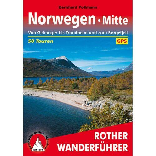 BVR NORWEGEN MITTE -  Wanderführer - 2. Auflage 2016 - Norwegen