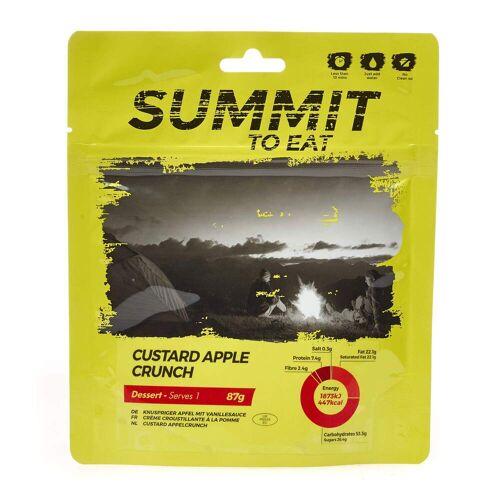 Summit to Eat VANILLEPUDDING MIT APFEL - Outdoor Essen - gelb