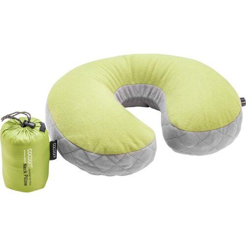 Cocoon AIR CORE NECK PILLOW ULTRALIGHT - Nackenkissen - grün grau