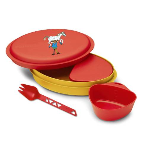 Primus MEAL SET PIPPI RED - Campinggeschirr - rot