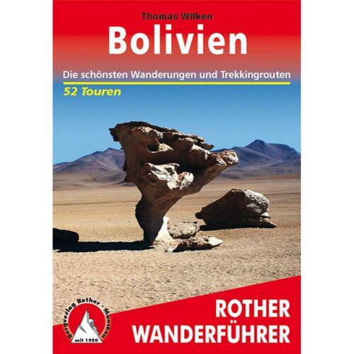 BVR BOLIVIEN -  Wanderführer Südamerika - 2. Auflage 2017 - Bolivien Wanderführer