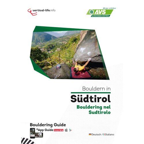 BOULDERN IN SÜDTIROL -  Boulderführer