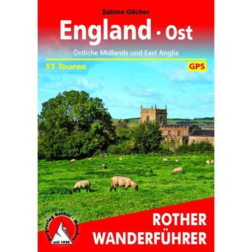 BVR ENGLAND OST -  Wanderführer Westeuropa - 1. Auflage 2018 - England Wanderführer
