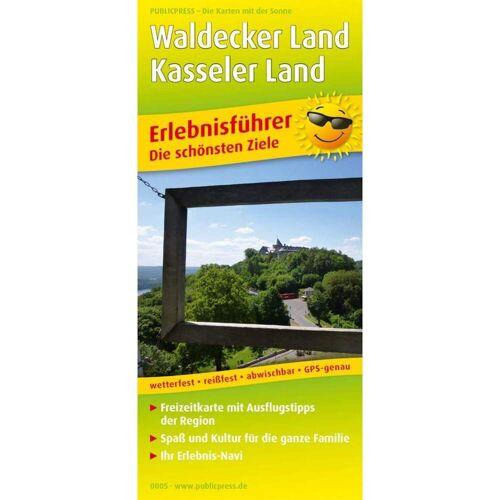 Waldecker Land und Kasseler Land 1:105 000 -  Straßenkarten