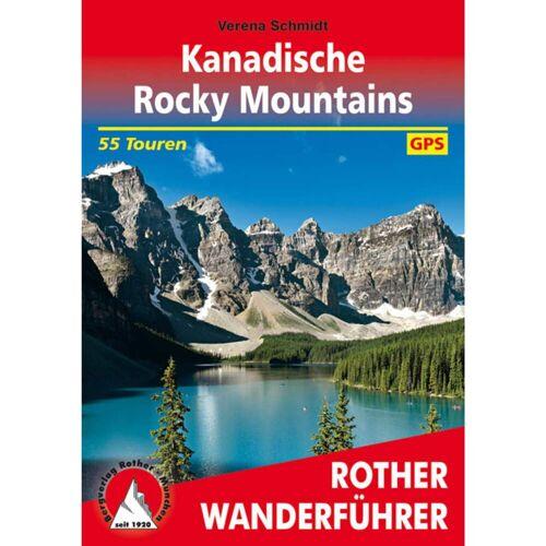 BVR KANADISCHE ROCKY MOUNTAINS -  Wanderführer Nordamerika - 1. Auflage 2019 - Kanada Wanderführer