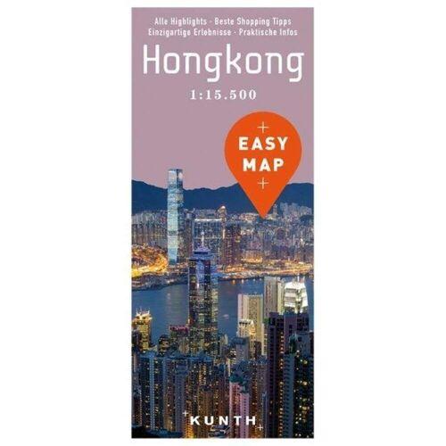 EASY MAP Hongkong 1:15.500 -  Stadtpläne