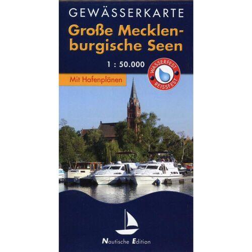 Gewässerkarte Große Mecklenburgische Seen 1 : 50 000. Nautische Edition -  Gewässerkarten