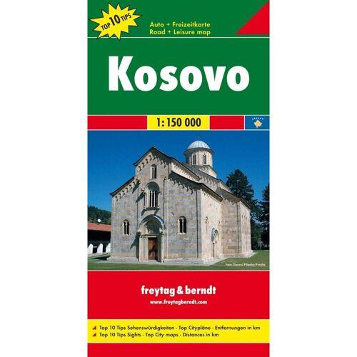 Kosovo 1 : 150 000 -  Straßenkarten