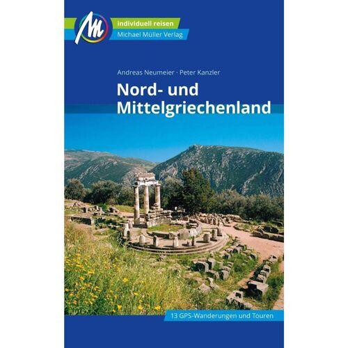 Nord- und Mittelgriechenland Reiseführer Michael Müller Verlag - Griechenland