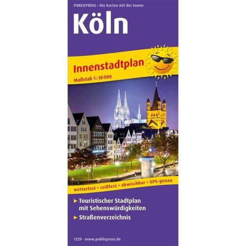 Köln. Innenstadtplan 1:18 000 -  Stadtpläne