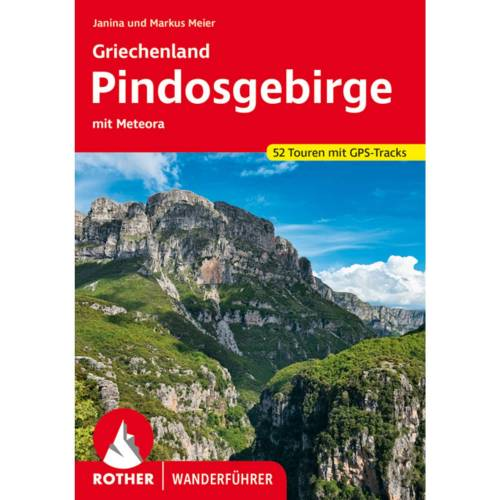 Griechenland - Pindosgebirge -  Wanderführer Südosteuropa - Neu 2021 Griechenland