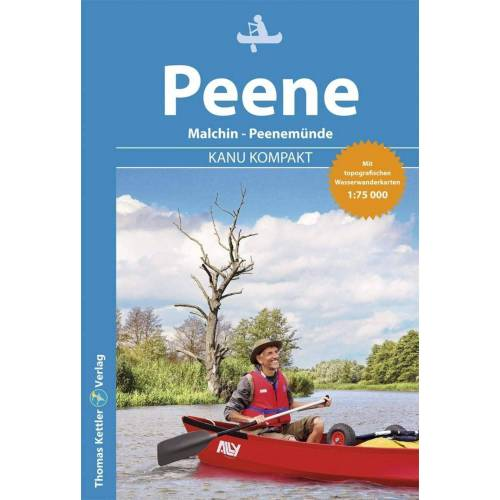 Kanu Kompakt Peene -  Gewässerkarten