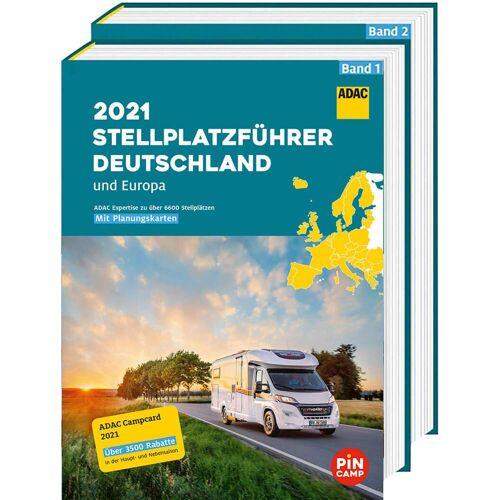 Stellplatzführer und Campingplätze - ADAC STELLPLATZFÜHRER 2021 - Neu 2021 Wohnmobilführer