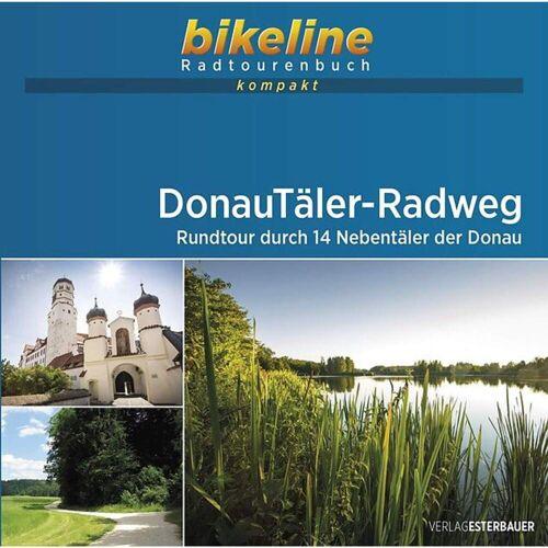 DONAUTÄLER-RADWEG -  Radwanderführer und Mountainbikeführer