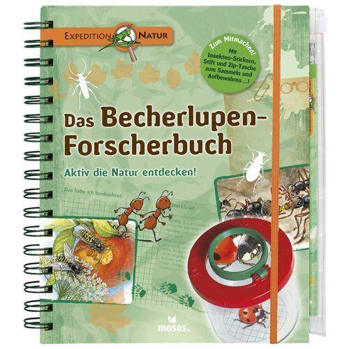 DAS BECHERLUPEN-FORSCHERBUCH Kinder - Sachbuch