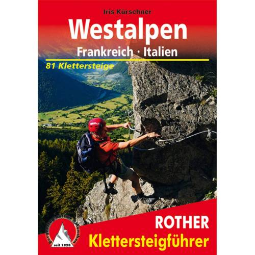 BVR KLETTERSTEIGE WESTALPEN -  Klettersteigführer