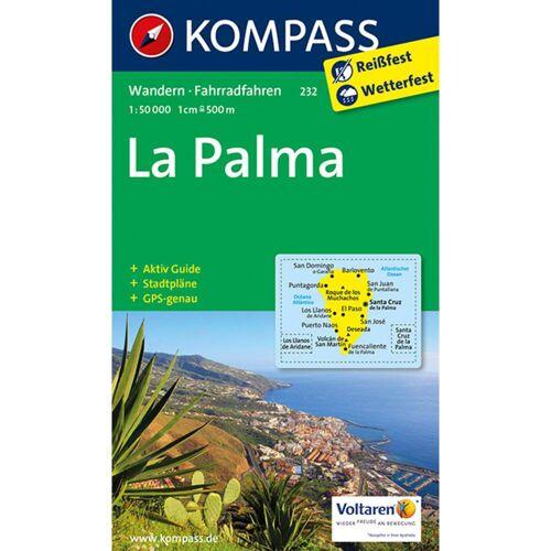 KOKA 232 LA PALMA -  Fahrradkarten