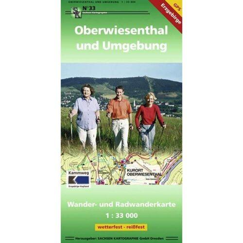 Oberwiesenthal und Umgebung 1 : 33 000 -  Wanderkarten und Winterkarten