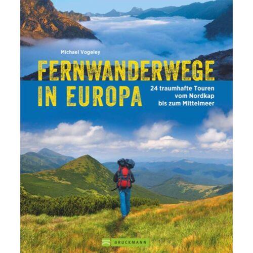 FERNWANDERWEGE IN EUROPA -  Wanderführer Nordeuropa - Fernwanderwege Wanderführer