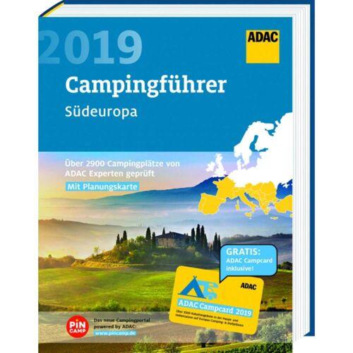 Reiseführer - ADAC CAMPING SÜD 2019 - Neu 2019