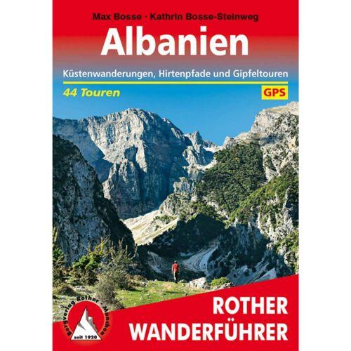 BVR ALBANIEN -  Wanderführer Südosteuropa - Albanien Wanderführer