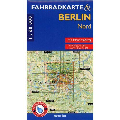 Fahrradkarte Berlin Nord 1:60 000 -  Fahrradkarten