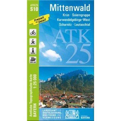 Mittenwald 1:25 000 -  Wanderkarten und Winterkarten