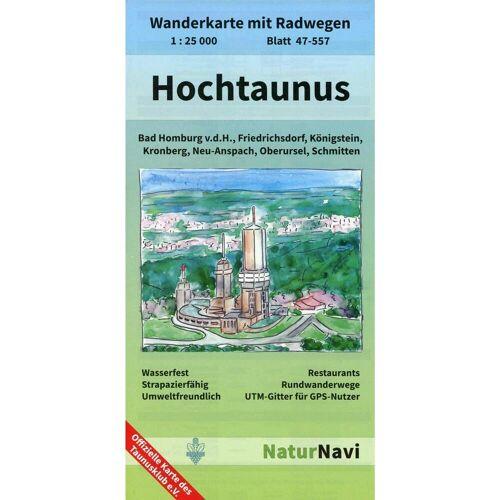 Hochtaunus 1 : 25 000, Blatt 47-557 -  Wanderkarten und Winterkarten