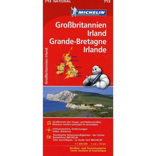 Großbritannien, Irland 1 : 1 000 000 -  Straßenkarten